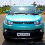 Mahindra KUV100 1.2 Diesel (D75) front Full Drive Review