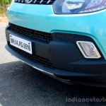 Mahindra KUV100 1.2 Diesel (D75) front bumper Full Drive Review