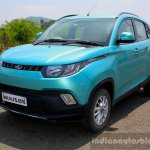 Mahindra KUV100 1.2 Diesel (D75) front quarter Full Drive Review