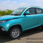 Mahindra KUV100 1.2 Diesel (D75) front three quarter Full Drive Review