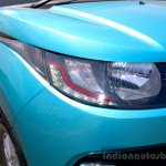 Mahindra KUV100 1.2 Diesel (D75) headlamp Full Drive Review