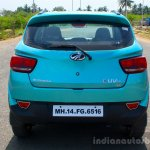 Mahindra KUV100 1.2 Diesel (D75) rear Full Drive Review