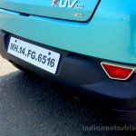 Mahindra KUV100 1.2 Diesel (D75) rear bumper Full Drive Review