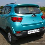 Mahindra KUV100 1.2 Diesel (D75) rear quarter Full Drive Review