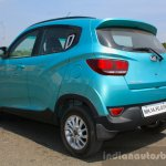 Mahindra KUV100 1.2 Diesel (D75) rear three quarter Full Drive Review