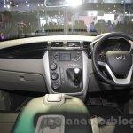 Mahindra KUV100 Xplorer edition dashboard at Auto Expo 2016