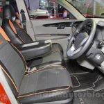 Mahindra KUV100 Xplorer edition front seats at Auto Expo 2016