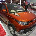 Mahindra KUV100 Xplorer edition front three quarters left at Auto Expo 2016