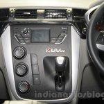 Mahindra KUV100 Xplorer edition gearbox at Auto Expo 2016