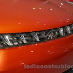 Mahindra KUV100 Xplorer edition grille at Auto Expo 2016