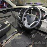 Mahindra KUV100 Xplorer edition interior at Auto Expo 2016