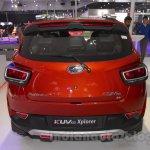 Mahindra KUV100 Xplorer edition rear at Auto Expo 2016