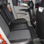 Mahindra KUV100 Xplorer edition rear seat at Auto Expo 2016