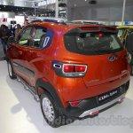 Mahindra KUV100 Xplorer edition rear three quarters at Auto Expo 2016