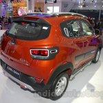 Mahindra KUV100 Xplorer edition rear three quarters left at Auto Expo 2016