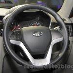 Mahindra KUV100 Xplorer edition steering wheel at Auto Expo 2016