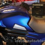 Mahindra Mojo Adventure Concept blue at Auto Expo 2016