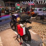 Mahindra Mojo Adventure Concept jerry cans at Auto Expo 2016