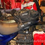 Mahindra Mojo Adventure Concept saddle bags at Auto Expo 2016