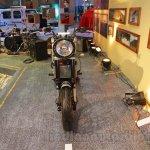 Mahindra Mojo Scrambler Concept front at Auto Expo 2016
