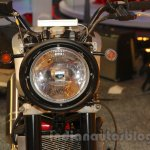 Mahindra Mojo Scrambler Concept headlamp at Auto Expo 2016