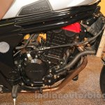 Mahindra Mojo Scrambler Concept red engine head at Auto Expo 2016