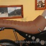 Mahindra Mojo Scrambler Concept seat at Auto Expo 2016