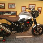 Mahindra Mojo Scrambler Concept side at Auto Expo 2016