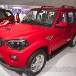 Mahindra Scorpio 1.99L diesel front quarter Auto Expo 2016