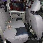 Mahindra Scorpio 1.99L diesel rear seats Auto Expo 2016