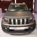 Mahindra TUV300 Endurance edition front at the Auto Expo
