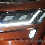 Mahindra XUV Aero LED lights at Auto Expo 2016