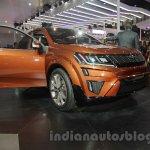 Mahindra XUV Aero ceoncept front at Auto Expo 2016