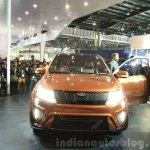 Mahindra XUV Aero front at the Auto Expo 2016