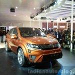 Mahindra XUV Aero front quarter at the Auto Expo 2016