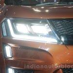 Mahindra XUV Aero headlight at Auto Expo 2016