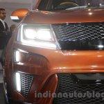 Mahindra XUV Aero headlights at Auto Expo 2016