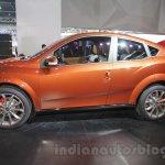 Mahindra XUV Aero profile at Auto Expo 2016