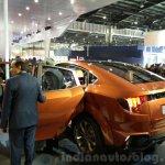 Mahindra XUV Aero rear end at the Auto Expo 2016