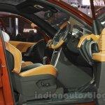 Mahindra XUV Aero seat adjust at Auto Expo 2016