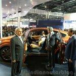 Mahindra XUV Aero side at the Auto Expo 2016
