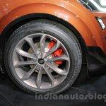 Mahindra XUV Aero wheel at Auto Expo 2016