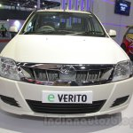 Mahindra e-Verito front at Auto Expo 2016