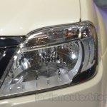 Mahindra e-Verito headlamp detail at Auto Expo 2016