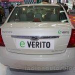 Mahindra e-Verito rear at Auto Expo 2016