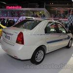 Mahindra e-Verito rear three quarter at Auto Expo 2016