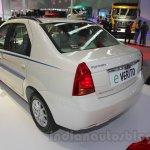 Mahindra e-Verito rear three quarter left at Auto Expo 2016
