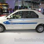 Mahindra e-Verito side at Auto Expo 2016