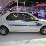 Mahindra e-Verito side profile at Auto Expo 2016