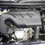 Maruti Baleno RS Boosterjet engine at the Auto Expo 2016